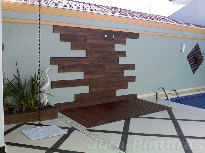 Imita o de madeira fotos de imita es de madeiras - Pinturas paredes modernas ...