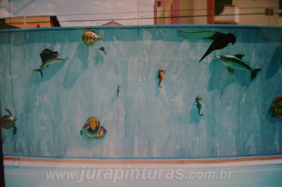 Pintura parede piscina jura pinturas - Pintura de pared ...