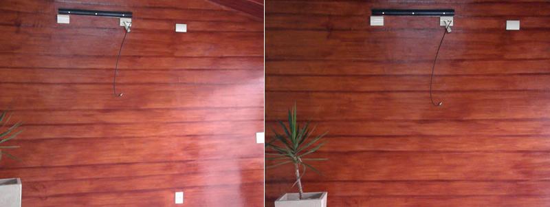 Imitação madeira